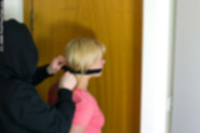 DONNA DOMINATED BY THE MASKED BURGLAR