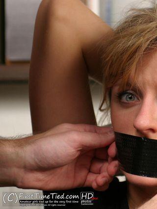 Anki the burglar caught and captured in ropes - 2