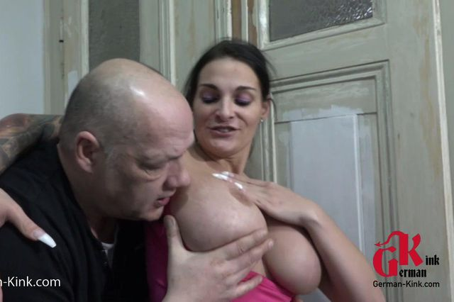 Sweaty tits slut