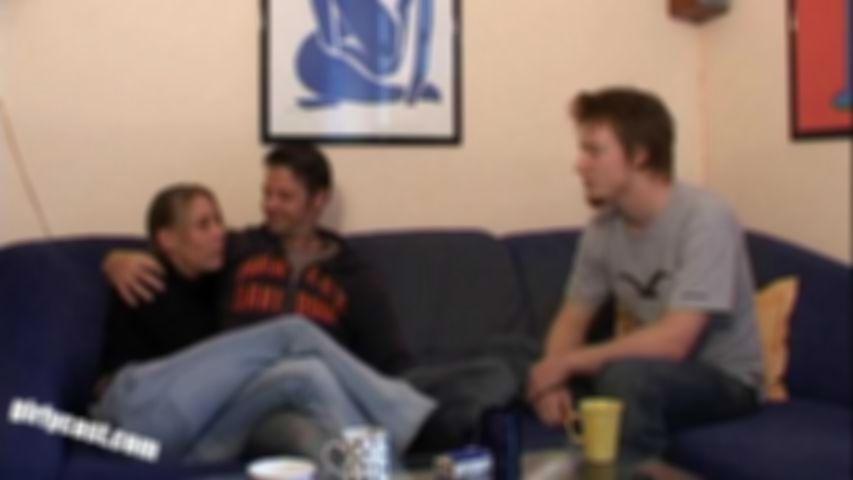 Nici & Niko sehr leidenschaftliches Home Casting