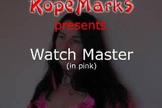 Watch master (in pink)