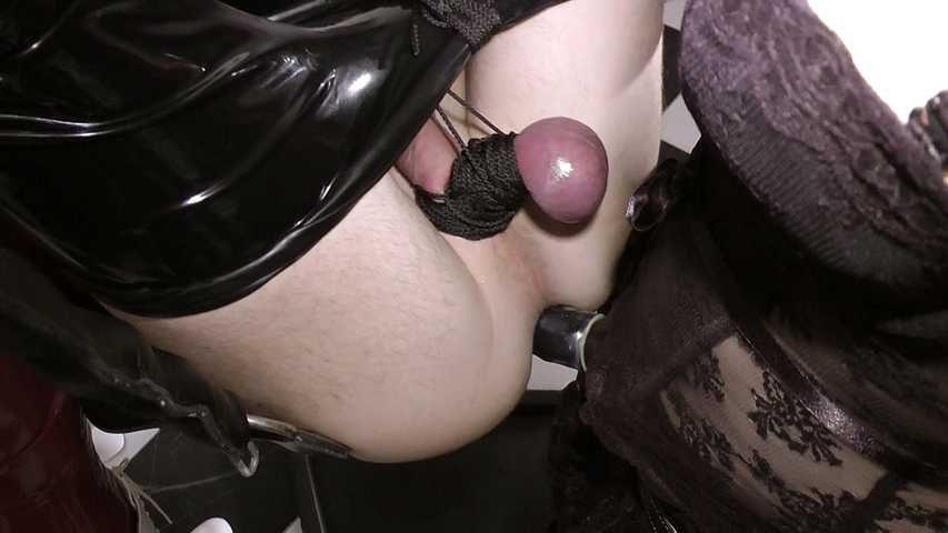The maid fucks his ass