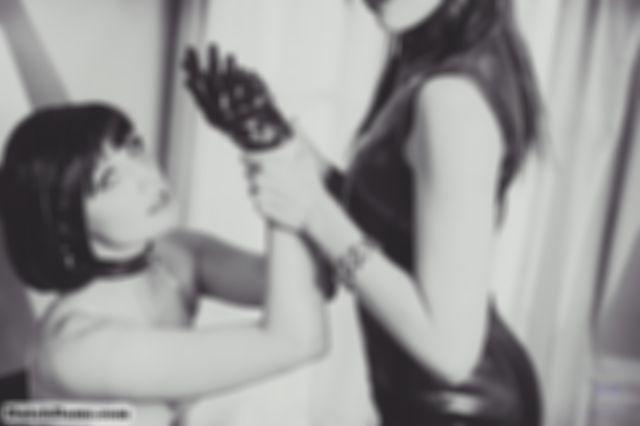 Black & White with Amarantha LaBlanche