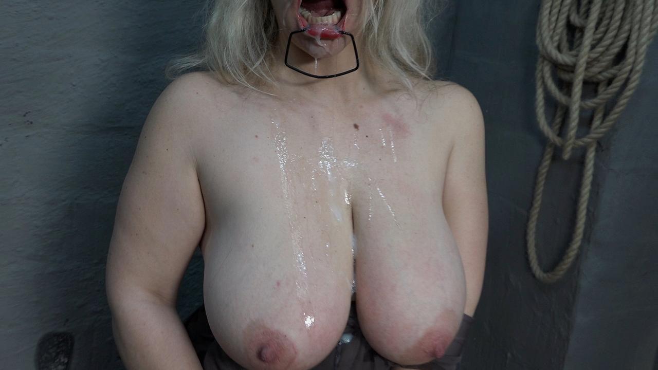 Sperma ins Gesicht