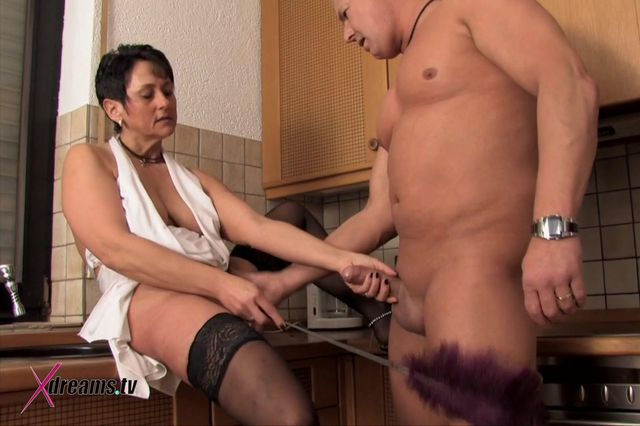 Ilona Sensual Domination And Couple Sex In Kitchen