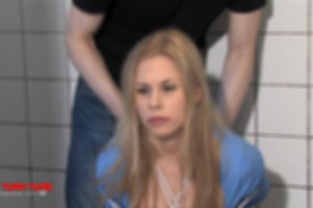 DONNA TIED UP NAKED IN THE BATHTUB AND DOMINATED - BEHIND ACTION