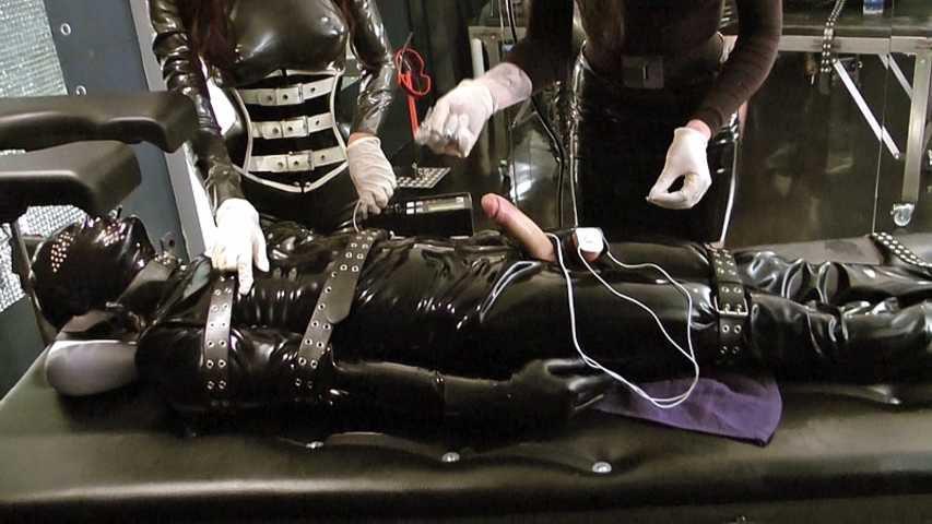 Lady Ashley & Mistress Zita - Rubber Toys Double Trouble