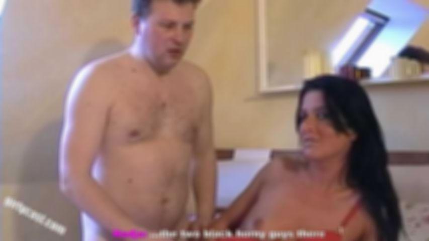 Nadja makes her boyfriend to a cuckold - English subtitles