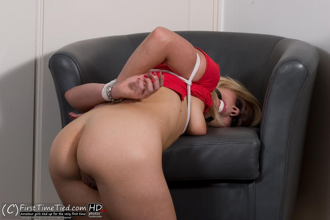 Donna tied up naked and ballgagged - 3