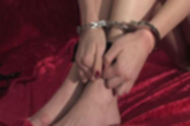 DONNA HANDCUFFED NAKED AND EXPOSED