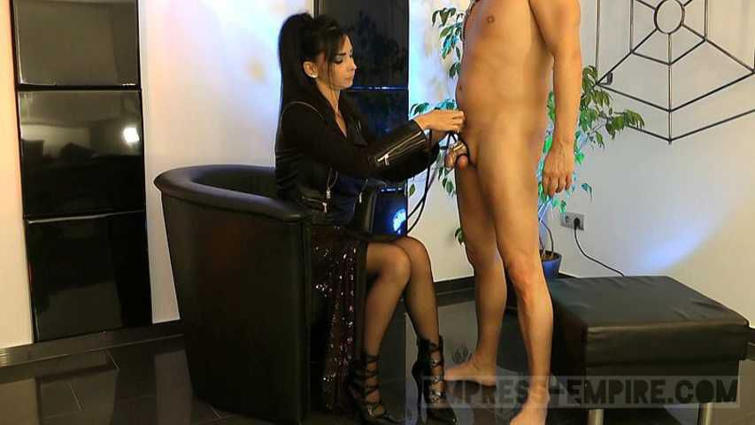 - Mistress Zita  - Orgasm for Me and Chastity for my Slave
