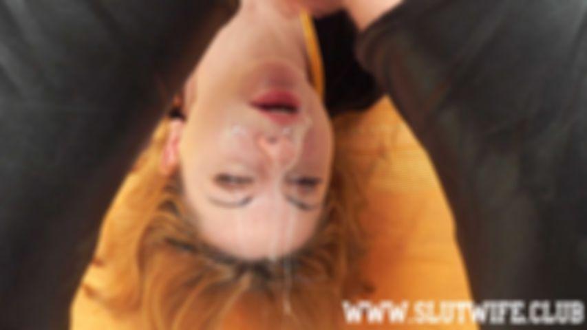 [Blasen und Würgen] Zwei Nutten sind besser als eine: Nasses Maulfick-Training für Carla Sky und Aprill