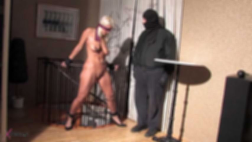Martina's Erotic Bondage And Hot Wax Torment