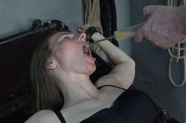 Brause aus der Vagina
