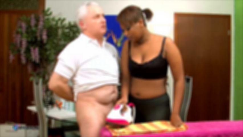 Cocco, Elder Man Ironing Pleasure