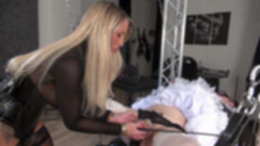 Training of the Feminized Chastity Slave