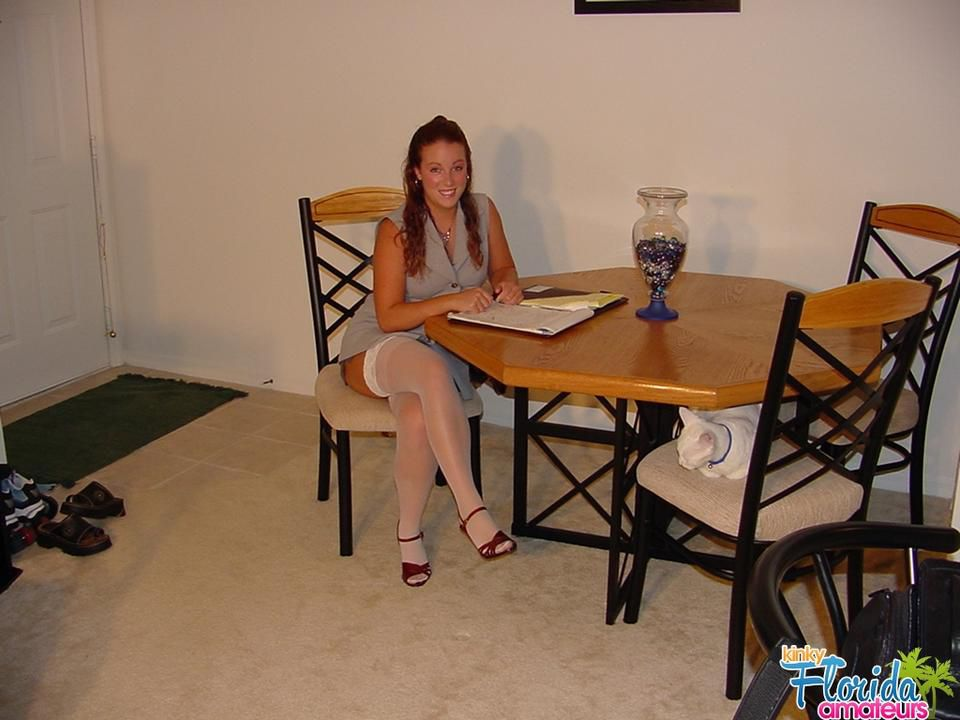 Kinky Teen Cynna Lynn Comes Home From Job Interview..Upskirt