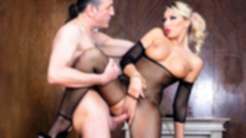 GB S01E02 - Blonde bimbo Rebeca Cerrera gets busted by Diether Von Stein