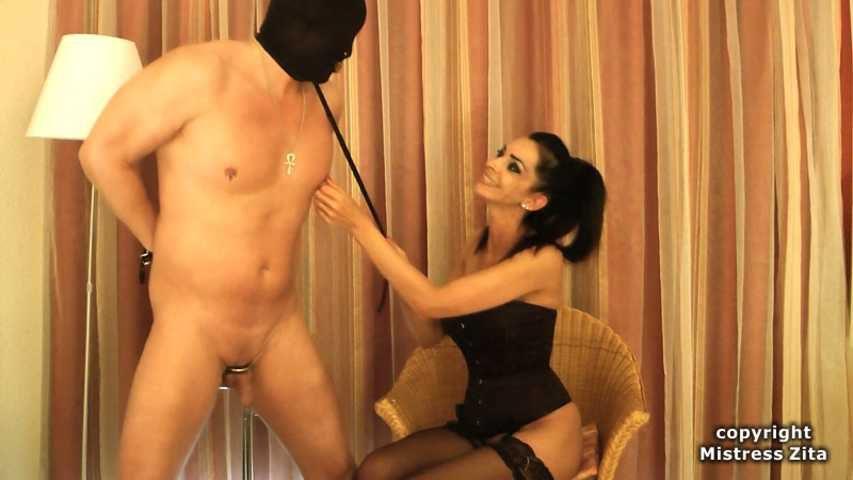 Mistress Zita - Lick my Ass and Orgasm Denial