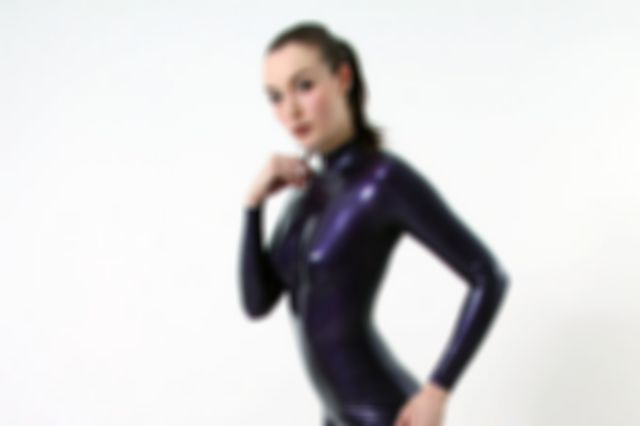 My first purple catsuit