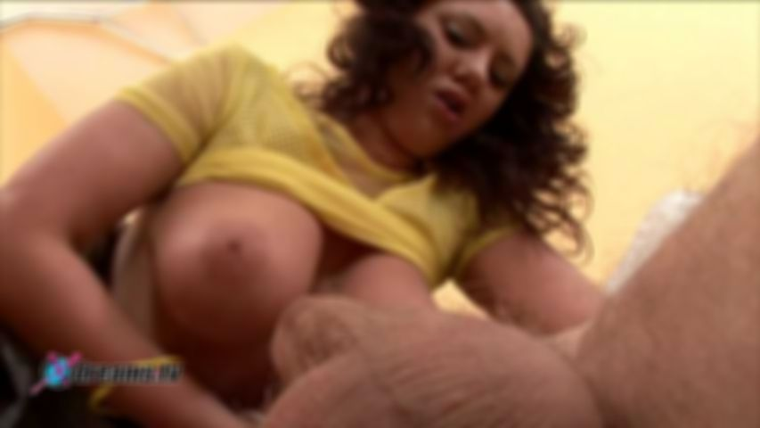 Kitty's Enormous Tits Handjob With Titty-Fuck