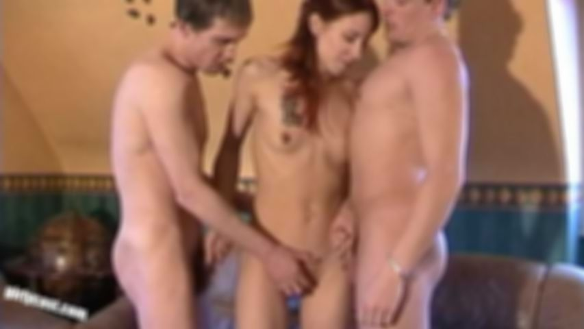 Natasha - threesome with creampie