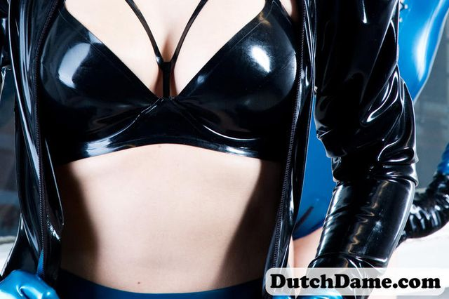 Metallic Blue Latex