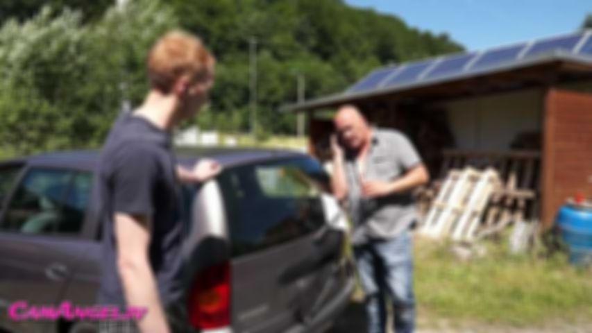 Der schmierige Autoverkäufer, Rabatt erfickt!