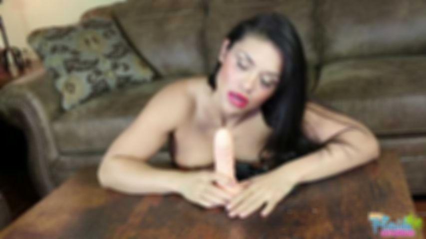 Amateur Latina Milf Vivian Camacho Gives You A Blowjob While Lactating  With Her Big Boobs- HD Video