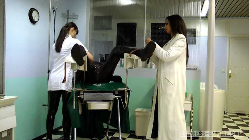 Mistress Zita & Cheyenne de Muriel - A nasty Therapy Part1