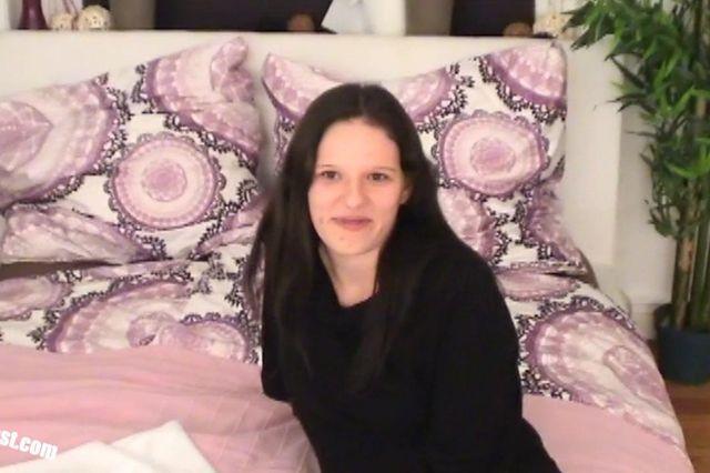 Young Turkish Mila - POV casting