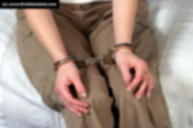MARIA HANDCUFFED THE VERY FIRST TIME