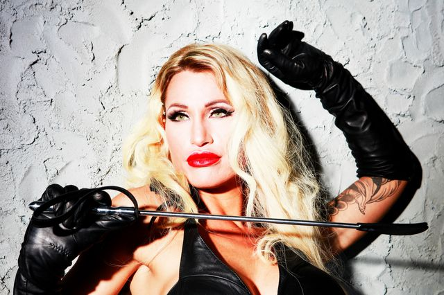 Leather, Gloves and Whip (photographed by Christopher Mourthé)