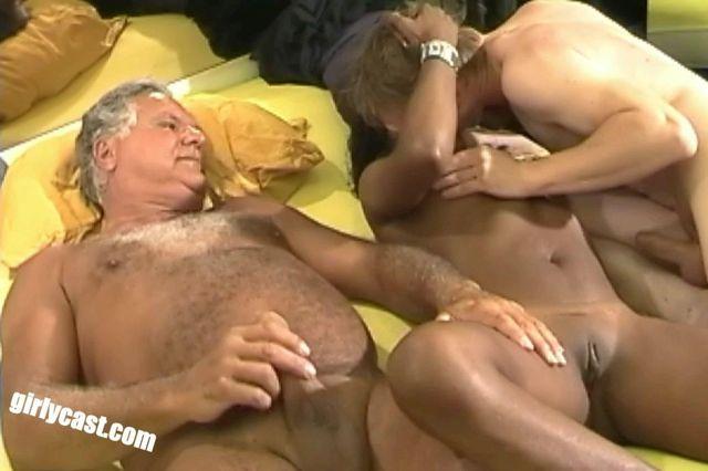 Sidinaya, her cuckold Manfred and Örgel threesome