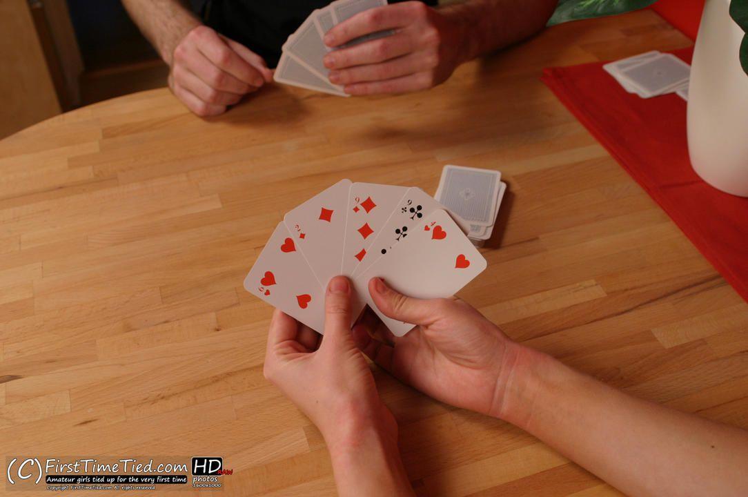 Anki playing card with the bondage bandit - 1