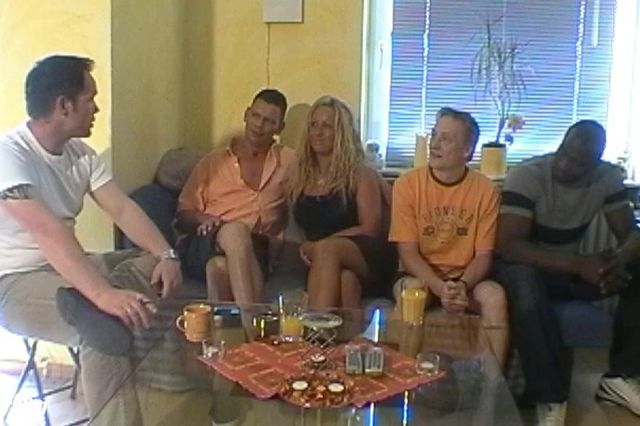 Cora's private gangbang incl. BBC - Part 1