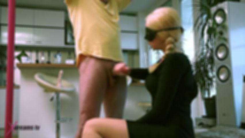 Spy Girl Tease Her Victim By Minimized Orgasm Handjob