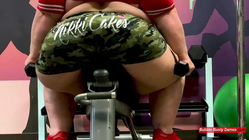 THE FATTY FITNESS 2 - NIKKI CAKES &  GOLDENBOMBSHELL