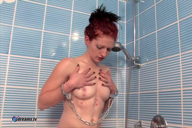 Aubrey's Shower Domination By Her Master