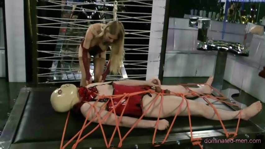 Lady Estelle - Hard Bondage Hard Dick (Part1)