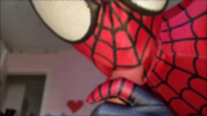 98 neue Spidergirl Kostüm Blowjob