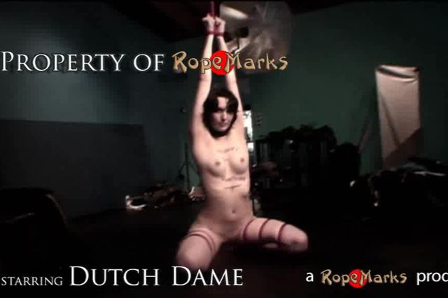 Dutch Dame, Property of RopeMarks