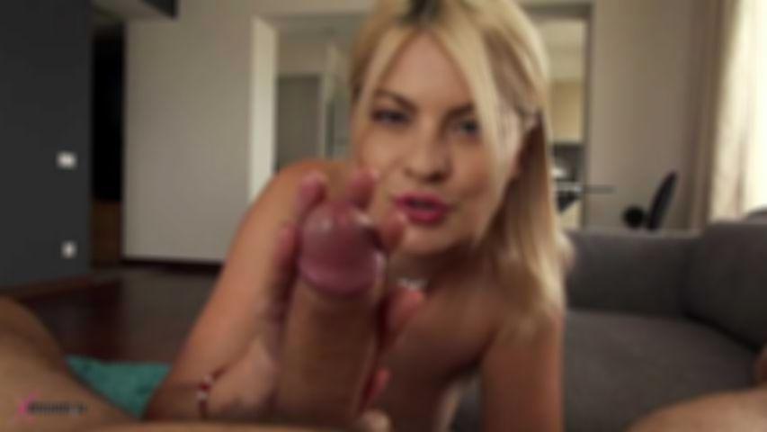 Jasmine Rouge Seduce Her Husband By Hand- & Blowjob