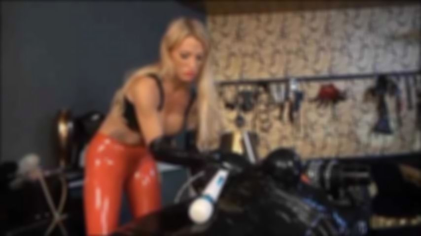 Wrapped,  Vacuum, Tease and Denial Part 1