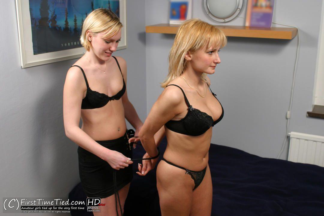 Two Slave Girls Bondage