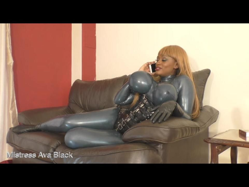 Rubber Domme got no time for you!