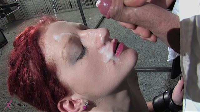 Aubrey Torturing Lesson To Learn To Give Perfect Blowjob