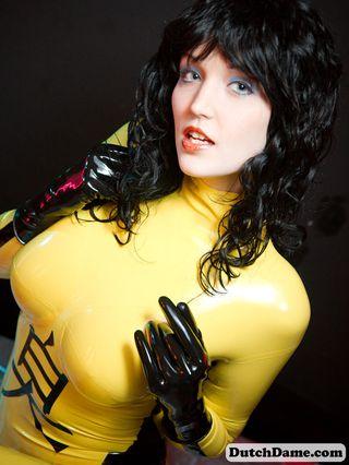 Yellow Catsuit