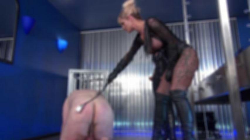 Femdom Threesome Cock Torture