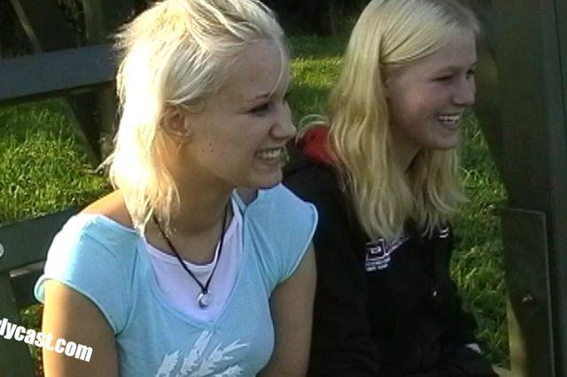 Tender love games of two teens